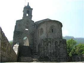 Monastery of San Xoán de Caaveiro.