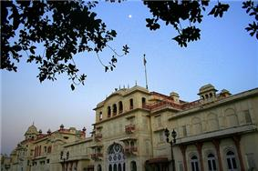 Moti Bagh Palace, Patiala now houses the National Institute of Sports