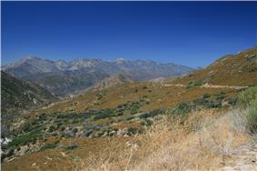 Mount Baldy viewed from Silverwood Lake.