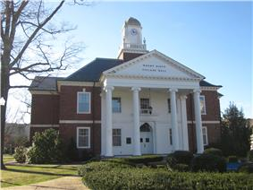 The Mount Kisco village hall