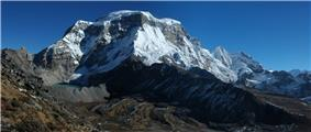 Photo of the Mountains of North Sikkim