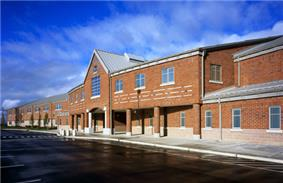 Auburn's newest comprehensive High School, Auburn Mountainview. Opened 2006.