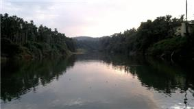 Evening view of Mukkam river