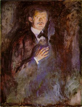Munch Self-Portrait.