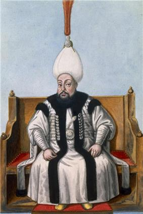 Portrait of Mustafa III by John Young