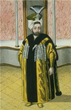 Portrait of Mustafa IV by John Young