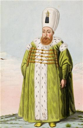 Portrait of Mustafa I by John Young