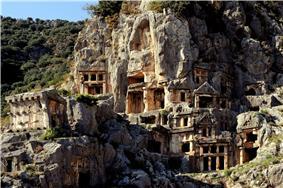 Myra Rock Tombs, Demre