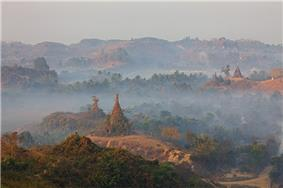 Mrauk U from Shwetaung pagoda