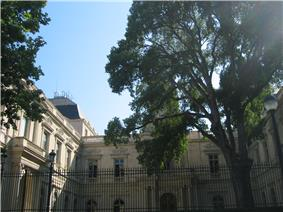 Prefecture building of the Gard department, in Nîmes