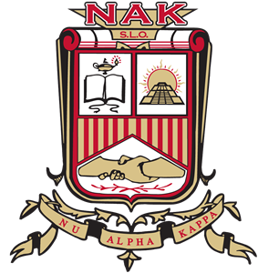 The official emblem of Nu Alpha Kappa Fraternity, Inc.