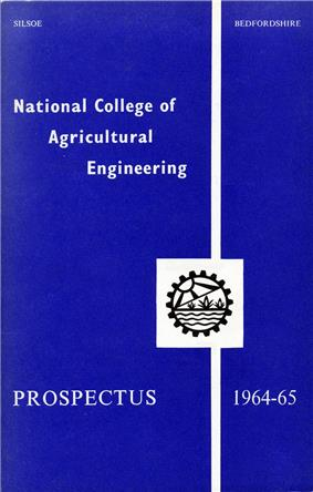 Prospectus Cover for the third academic year