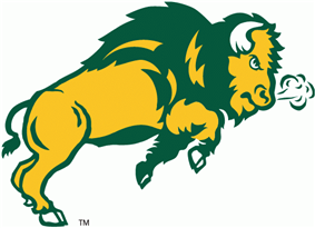 North Dakota State Bison athletic logo