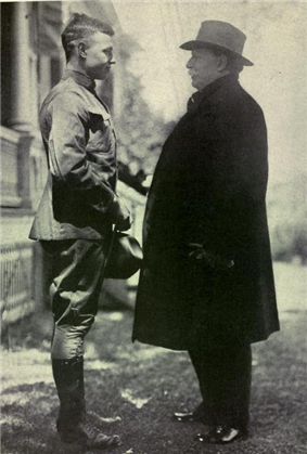 Charles Taft with his father