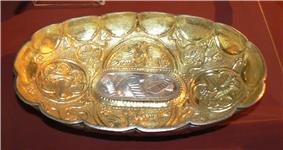 A vessel from a medieval treasure trove