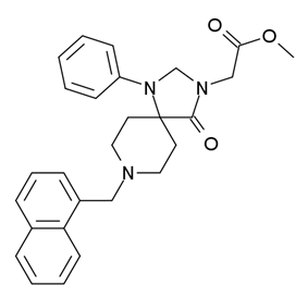 Chemical structure of NNC 63-0532.