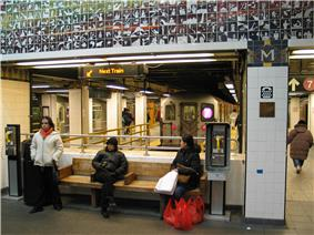 Main Street Subway Station (Dual System IRT)