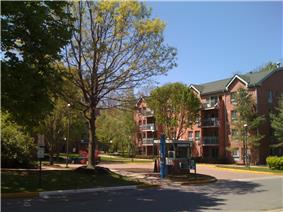 On-campus student housing
