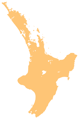 Opotiki is located in North Island