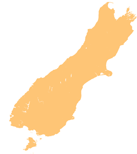 Tonga Island (New Zealand) is located in South Island