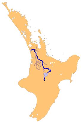 The Waikato River system