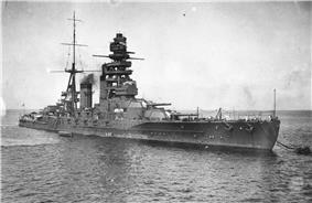 Nagato at Anchor