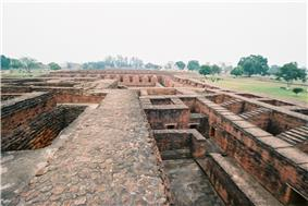 Ruins of Nalanda.