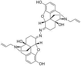 Chemical structure of Naloxonazine