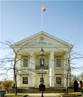 Exterior view of Napanee Town Hall