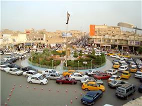 Nasiriyah town centre