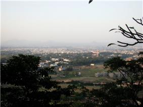 Nashik city view from Pandavleni