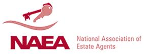 The National Association of Estate Agents (NAEA) logo.