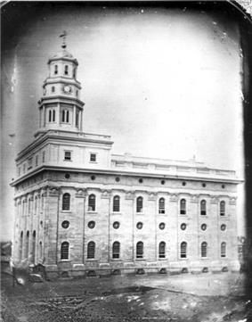 Undated photograph of the Nauvoo Temple.