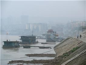 Skyline of Naxi District