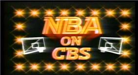 The NBA on CBS logo