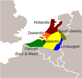 Dialects of Dutch