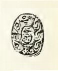 Scarab of pharaoh Nehesy, now in the Petrie Museum.