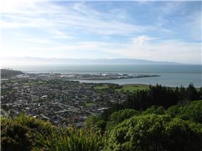 A view of Nelson from the