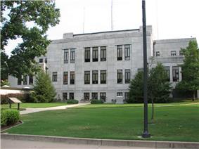 Newton County Courthouse, 2006