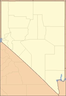 Rhyolite is in southwestern Nevada near the California border
