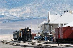 Nevada Northern Railway East Ely Yards and Shops