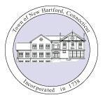 Official seal of New Hartford, Connecticut