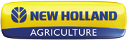 New Holland Agriculture logo.