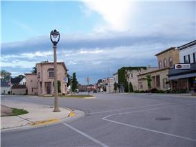 Main Street in New Holstein