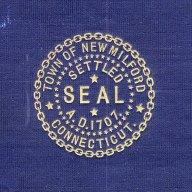 Official seal of New Milford, Connecticut