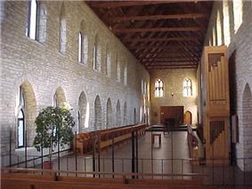 Interior of New Melleray Chapel