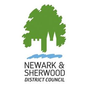 Official logo of Newark and Sherwood District