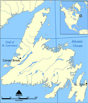 St. John's Metropolitan Area is located in Newfoundland