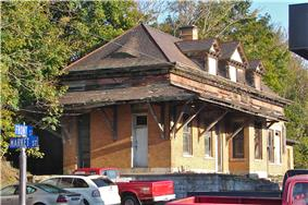 Newport's former train station