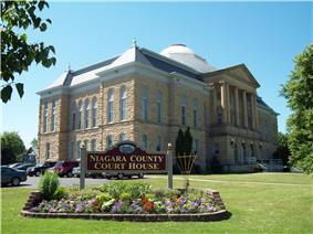 Niagara County Courthouse and County Clerk's Office